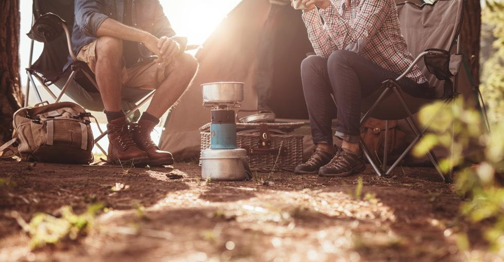 camping couple