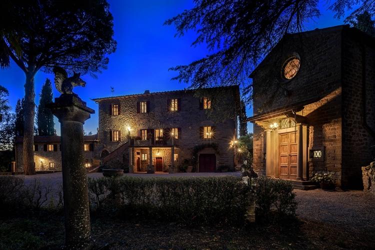 prestigious villa cortona for - 4