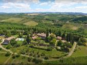 farm with vineyard tuscany